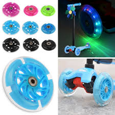 Micro Light Up Scooter Details About 80 120mm Led Flash Light Up Wheel Fr Mini Micro Scooter W 2 Abec 7 Bearings