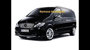 Mercedes W639 Vito Viano Remove Headlamp Headlight
