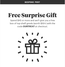 Surprise Images Free Bespoke Post Coupon Free Surprise Gift With 45 Purchase Or