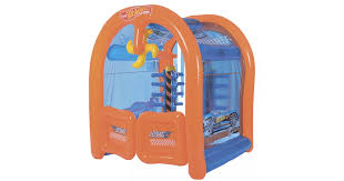 <b>Bestway</b> 93406, <b>детский</b> игровой центр Автомойка <b>Hot</b> Wheels ...
