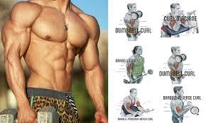 155 arm workouts