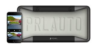 new car plate releasePearl Automations license plate cover puts a car backup camera on