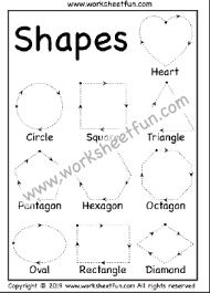 Letters Numbers And Shapes Tracing Worksheets Free