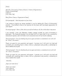 Pharmacy Scholarship Thank You Letter