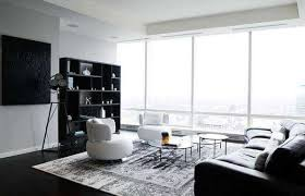 ᐉ living rooms in black and white
