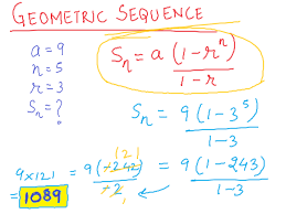 Geometric Sequence Example Unit 244 Jaymee In Algebra 24 7