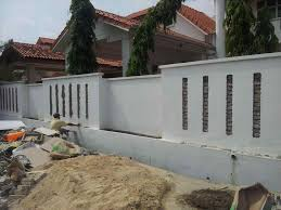 concrete fence design. Beautiful Concrete Praiseworthy Modern Gates Designs And Fences Fence Concrete  Photos For Design
