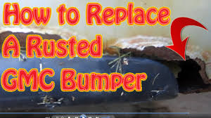 DIY How to Replace a Chevy Silverado Truck Rear Bumper How to ...
