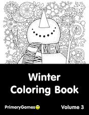 Check out our coloring sheets kids selection for the very best in unique or custom, handmade pieces from our shops. Winter Coloring Pages Free Printable Pdf From Primarygames