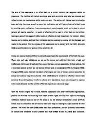 law and ethics in nursing the aim of this assignment is to page 1 zoom in