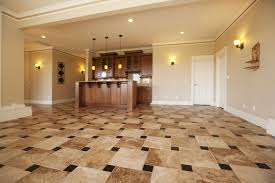 Flooring For Kitchen And Bathroom Kitchen Floor Tile Transition Brown Kitchen Floor Tiles Tiling 5