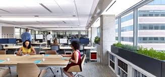 Designer Office Space Impressive ASID Headquarters Is First Space To Earn LEED And WELL Platinum
