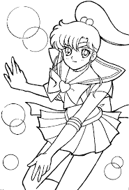 Small Picture Sailor Moon Coloring Pictures Blank Coloring Coloring Pages