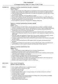Healthcarestration Resume Samples Medicalstrative Objective