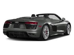 2018 audi v10 plus. perfect 2018 2018 audi r8 spyder base price v10 plus quattro awd pricing side rear view inside audi v10