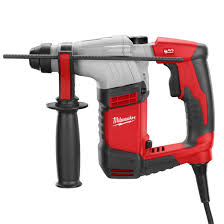 corded power tools milwaukee tool 5 8 sds plus rotary hammer kit