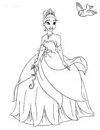 Princess And The Frog Coloring Pages Printable Sad Page Shadowman ...