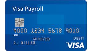 visa payroll card