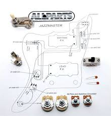 wiring kit for jazzmaster® allparts uk wiring kit for jazzmaster®