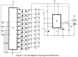 adjustable timer circuit diagram with relay output readingrat net Timing Relay Wiring Diagram timer switch circuit diagram the wiring diagram, circuit diagram agastat timing relay wiring diagram