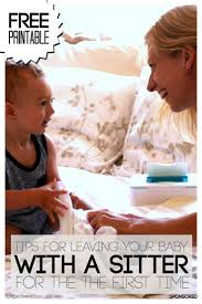 17 best ideas about babysitter printable tooth babysitter printable and tips for leaving your baby for the first time