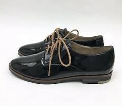 KARL LAGERFELD Paris womens 6 Iva Black Oxford Leather Shoes   eBay