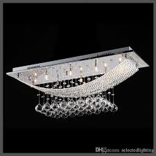 rectangle crystal rain drop chandelier lamps modern contemporary ceiling pendant light h11 x w10 x l30 gothic chandelier entryway chandelier from