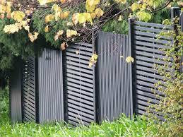 white horizontal wood fence. Fence White Wood Home U Gardens Geek Fresh Panels Horizontal