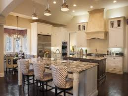 Dark Wood Floors In Kitchen Great Kitchen Designs For Small Islands With Seating And Dark Wood