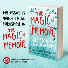 contest winner jude walsh i am delighted to share that my essay the unfolding story will be included in the magic of memoir inspiration for the writing journey edited by linda