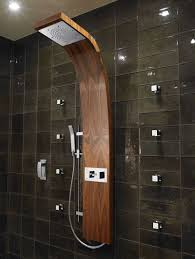 ... Splendid Image Of Bathroom Decoration Using Stand Up Shower Ideas :  Charming Picture Of Modern Small ...