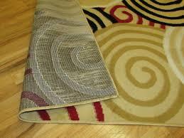 rug 2x5. arlington collection multi color circles design geometric 3 pcs. area rug set (5x7), (2x5), (2x3) 2x5