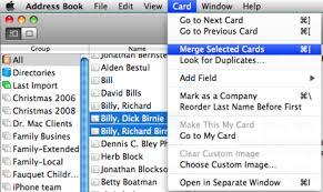 Christmas Card Mailing List Software Christmas Cards Addressed Address Book General Mac Beginner