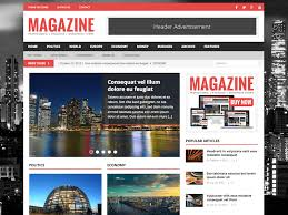 Wordpress Website Templates Enchanting Best Magazine Website Templates 28 Best Magazine Wordpress Themes