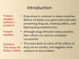 essay about drug abuse co essay about drug abuse