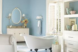 How To Paint A Bathroom - Cool & Relaxing Bathroom Colors