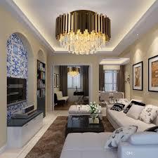 Großhandel Luxus Gold Kronleuchter Beleuchtung Ac110 240v Led