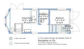 tiny house plans on trailer clever design trailer mounted tiny house plans 4 floor plans home tiny house plans
