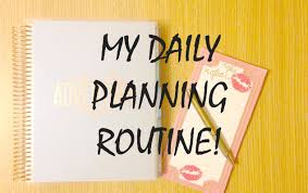 plan daily schedule my daily planning routine how i schedule my day study edition