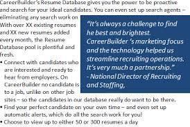 Free Resume Database Beauteous Free Demo CareerBuilder India Resume Database