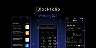 How To Read Tab Charts Blockfolio 2 1 Brings Markets Overview Line Charts More