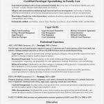 Paralegal Resume Objective Lovely Paralegal Resume Sample Awesome ...