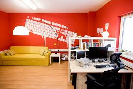 bright office. Inspiration: 35 Amazingly Bright, Bold, And Colorful Offices - 2 Bright Office A