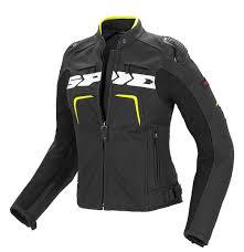 spidi evorider leather lady black yellow women s clothing jackets spidi tank motorcycle jacket classic styles