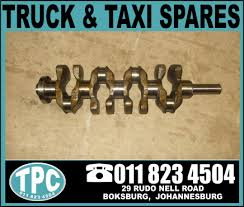 Toyota Quantum 2KD CRANKSHAFT - New Replacement part for sale at TPC ...