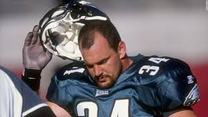 former pro football player kevin turner shown here during a 1998 nfl game lt