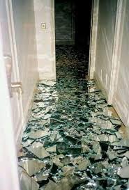shattered mirror flooe