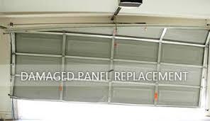 damaged garage doors