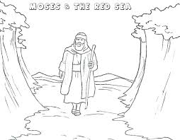 Coloring Pages Moses Coloring Pages Free Baby Page Printable