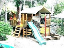 diy backyard slide outdoor fort play fort plans plans for backyard forts kids build outdoor fort